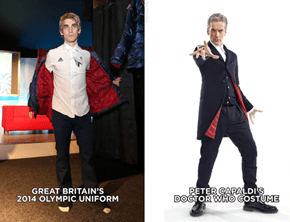Great Britain's 2014 Opening Ceremony Uniform