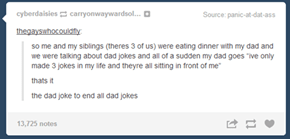 There is No Dad Joke Greater Than This