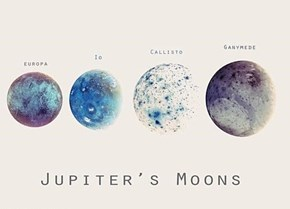 Jupiter's Moons Are Beautiful