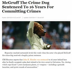 Crime Takes a Bite Out of Scruff McGruff