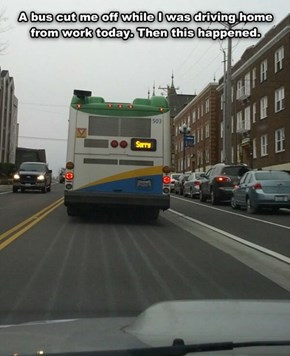 Bus Driver Tries to Make Things Right