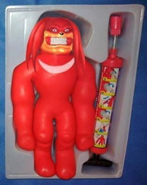 Knuckles what they did to you?