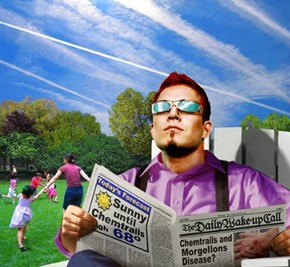 Chemtrails, the poisoning of America...