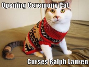 Opening Ceremony Cat  Curses Ralph Lauren