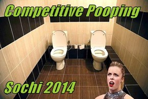 Competitive Pooping   Sochi 2014