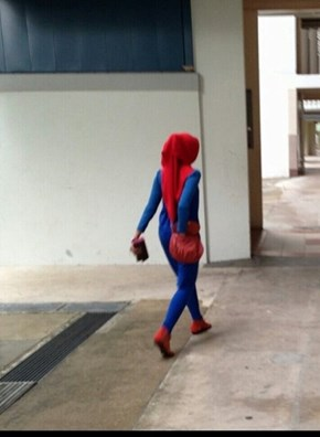 Spiderman (Muslim) Wife.