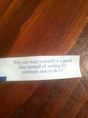 Fairly Sure This Fortune is Telling You to Fap