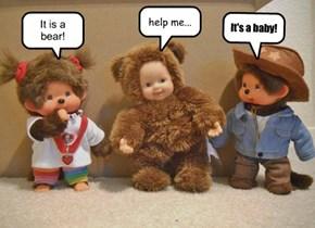 It is a bear!