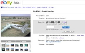 Ever Wanted to Buy a Ukrainian Bomber?