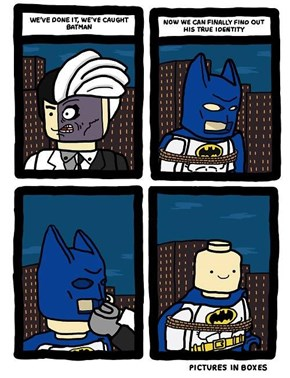 LEGO Batman Unmasked!