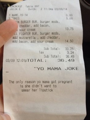 Best. Receipt. Ever.