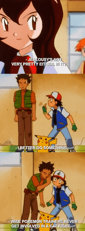 Brock's Advice