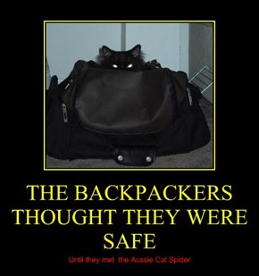 THE BACKPACKERS THOUGHT THEY WERE SAFE
