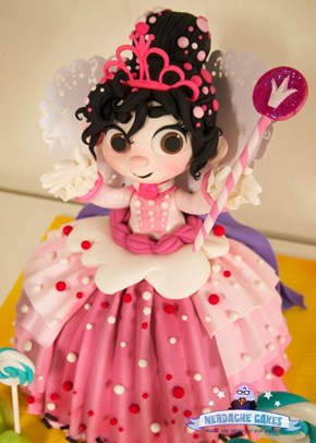This Cake Might Be too Schweetz: Vanellope von Schweetz