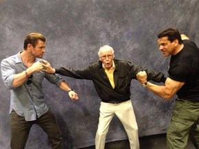 Photo of the Day: Lou Ferrigno Posted This Awesome Picture to His Facebook Page