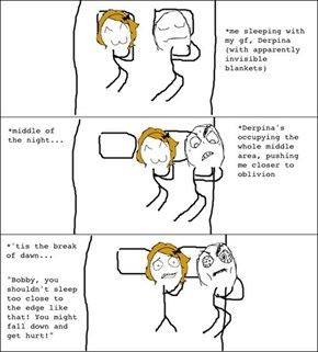 Sleeping With My Girlfriend...