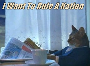 I Want To Rule A Nation