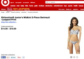 "Target's Photoshop Disaster Accidentally Makes Crotchless Swimwear, for ""Juniors"""