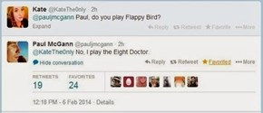 I Always Thought The Fourth Doctor Was The Flappy One