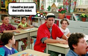I should've just paid that traffic ticket.