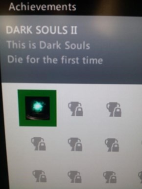 Try Beating Dark Souls II Without Getting This Achievement