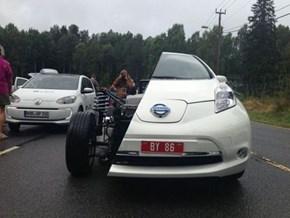 Crap, Which Anime Samurai Took Down This Car?