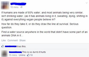 """Irrefutable"" Logic, CHECKMATE VEGANS"