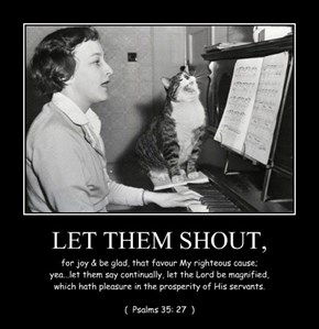 LET THEM SHOUT,