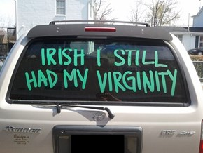 St. Patrick's Day Regrets