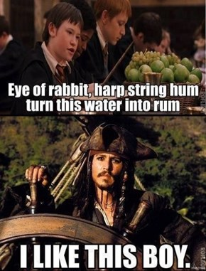 If Only Jack Sparrow Was a Wizard