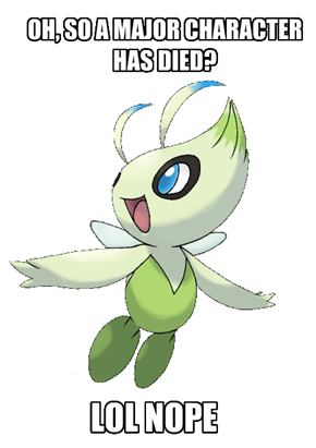 Anime Celebi is So OP