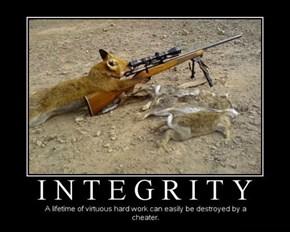 Who Gave That Fox a Gun?