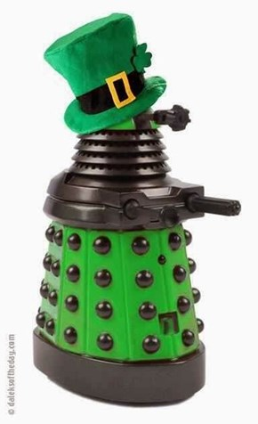 St Patrick's Day Is For Daleks Too