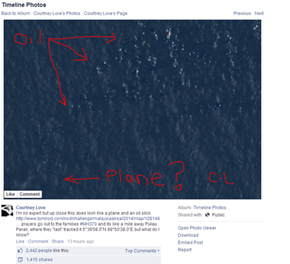 Listen Everybody, Courtney Love Has this Plane Disappearance on Lock