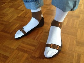 Wear With Sandals For Maximum Effect