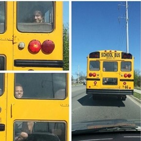 Every Time You Drive Behind a Schoolbus