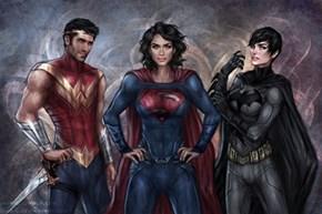 Gender Swap heroes