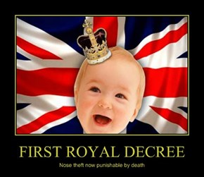 FIRST ROYAL DECREE