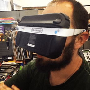 Nintendo's New VR Headset