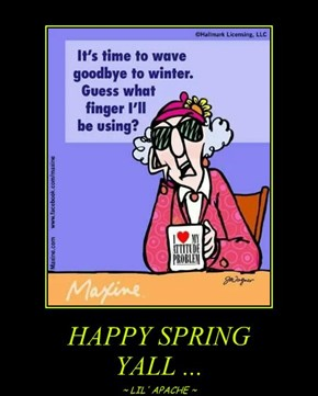 HAPPY SPRING  YALL ...