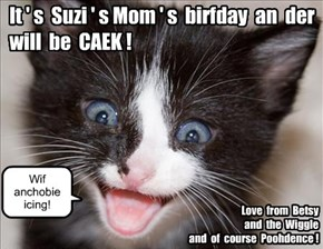 For Suzi'sMom!