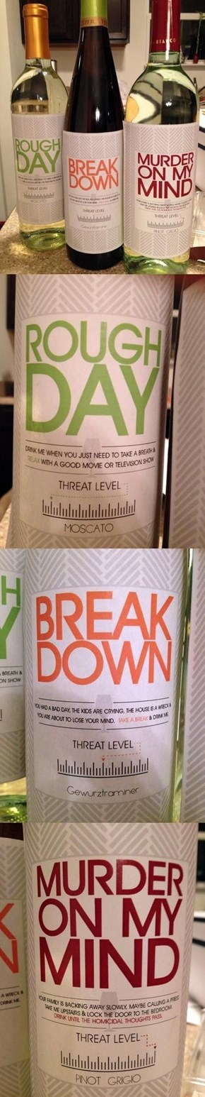 Threat Level Wine
