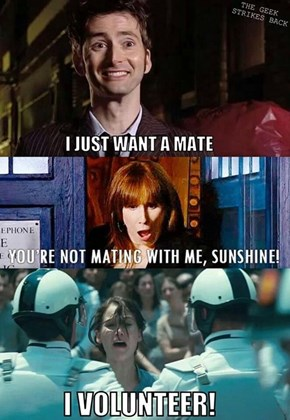 I'd Play The Doctor Games