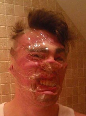Sellotape Selfies are the Latest Internet Craze