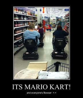 ITS MARIO KART!