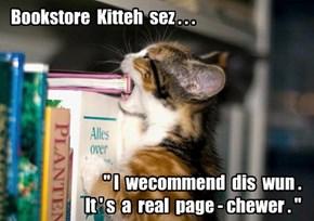 A tasty new read!