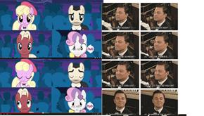 even my little pony doesn't give him an oscar
