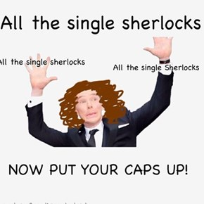 all the single sherlocks