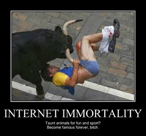 INTERNET IMMORTALITY