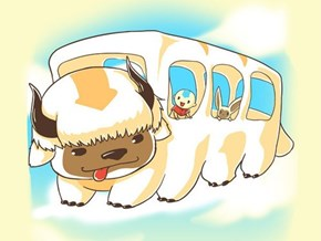 You May Have a Catbus, But Do You Have a Flying Bisonbus?
